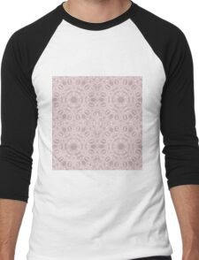 Elegant design with abstract ornament Men's Baseball ¾ T-Shirt