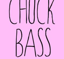 chuck bass gossip girl Sticker