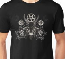 BLACK ROSE BAPHOMET Unisex T-Shirt
