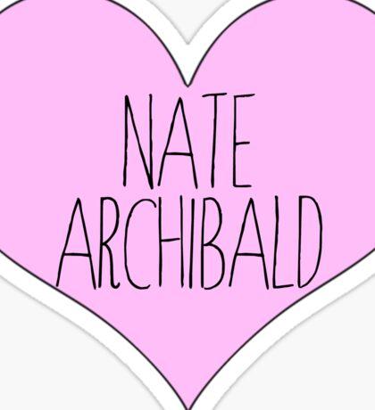 nate archibald gossip girl Sticker