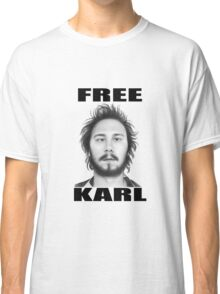workaholics free karl show shirt Classic T-Shirt