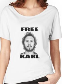 workaholics free karl show shirt Women's Relaxed Fit T-Shirt
