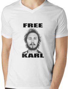 workaholics free karl show shirt Mens V-Neck T-Shirt