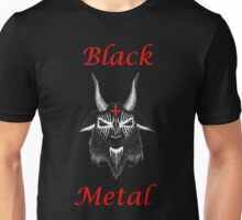 BLACK METAL RED CROSS Unisex T-Shirt