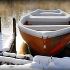 Winter Boat by Kasia-D