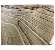 Ice dunes Poster