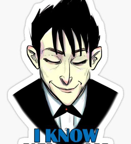 Oswald Cobblepot Sticker