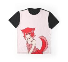 Valentine Wolfie Graphic T-Shirt