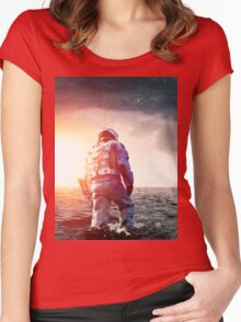 Interstellar Women's Fitted Scoop T-Shirt