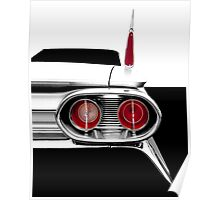 1961 Cadillac Tail Fin - Detail High Contrast Poster