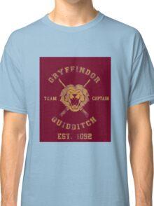 Gryffindor Quidditch - Team Captain Classic T-Shirt