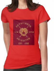 Gryffindor Quidditch - Team Captain Womens Fitted T-Shirt