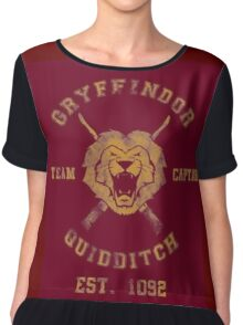 Gryffindor Quidditch - Team Captain Chiffon Top