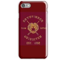 Gryffindor Quidditch - Team Captain iPhone Case/Skin