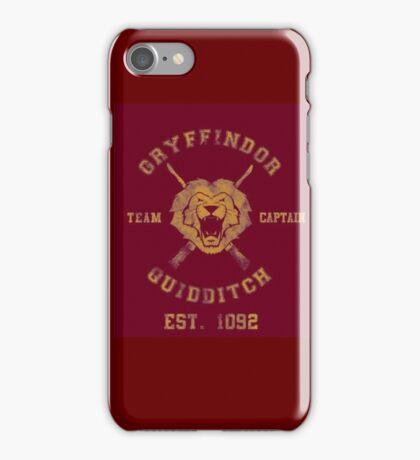 Gryffindor Quidditch - Team Captain iPhone Case/Skin