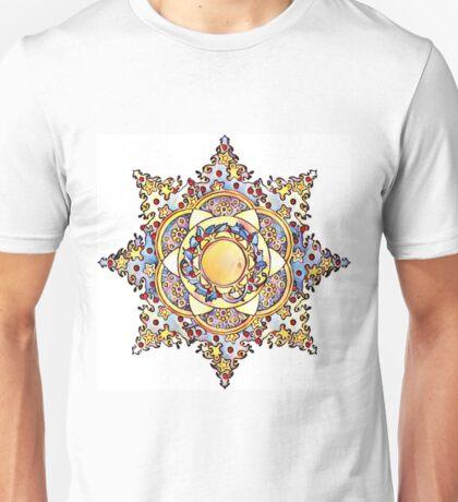 Pop Art Christmas Star Unisex T-Shirt