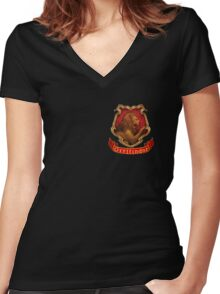Gryffindor Women's Fitted V-Neck T-Shirt