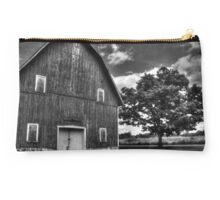 Red Barn and Tree Studio Pouch