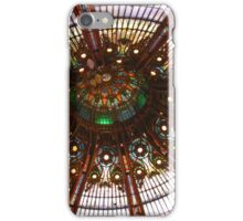 Gallery Lafayette Glass Ceiling in Paris iPhone Case/Skin