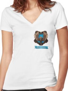 Ravenclaw Women's Fitted V-Neck T-Shirt
