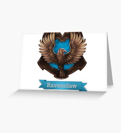 Ravenclaw Greeting Card