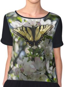 Tiger Swallowtail Chiffon Top