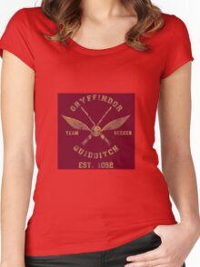 Gryffindor Quidditch - Team Seeker Women's Fitted Scoop T-Shirt
