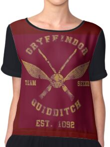 Gryffindor Quidditch - Team Seeker Chiffon Top
