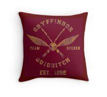 Gryffindor Quidditch - Team Seeker Throw Pillow