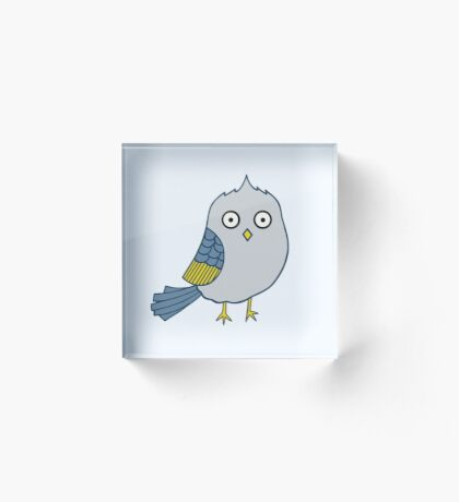 Faux Hawk Acrylic Block
