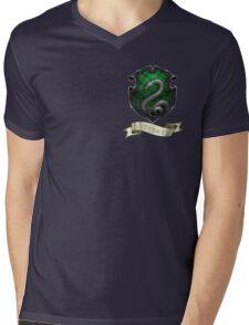 Slytherin Mens V-Neck T-Shirt
