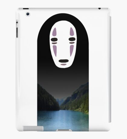 No Face- Spirited Away iPad Case/Skin