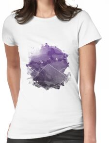 Look At The Stars And Wish   Night Court Womens Fitted T-Shirt