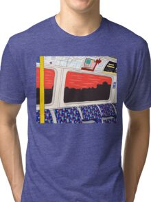 View from London Jubilee Line Tri-blend T-Shirt