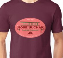 Arose Such A Clatter (Rose Suchak Ladder) - Red Unisex T-Shirt
