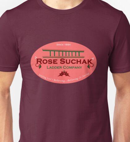 Arose Such A Clatter (Rose Suchak Ladder) - Red Unisex T-Shirt