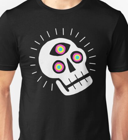 Enlightened Skull Unisex T-Shirt