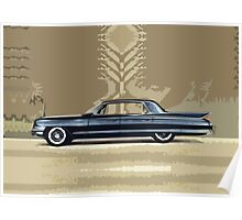 Cadillac Fleetwood Sixty-Special 1961 Poster