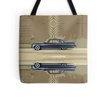 Cadillac Fleetwood Sixty-Special 1961 Tote Bag