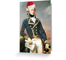 Hamilton: Christmas Lafayette Greeting Card