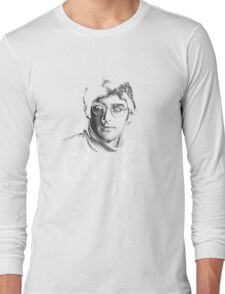Louis Theroux 90s Young Long Sleeve T-Shirt