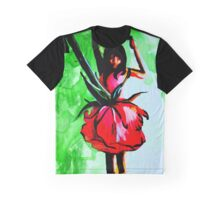 Bright floral dancer Graphic T-Shirt
