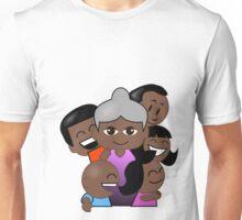 Grandparent Duty - Black Nanna Unisex T-Shirt