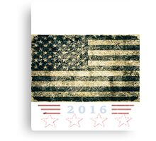 American Veterans for President Trump Canvas Print