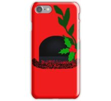 Christmas Bowler iPhone Case/Skin
