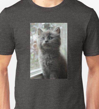 Smokey - The Grey Little Kitten Unisex T-Shirt