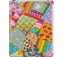 Enchanted Fairy-tale Crazy Quilt iPad Case/Skin
