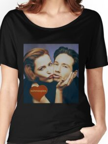 The Schmoopies - Gillian and David painting Women's Relaxed Fit T-Shirt