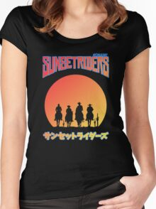 Sunset Riders Women's Fitted Scoop T-Shirt