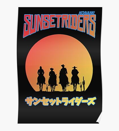 Sunset Riders Poster